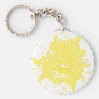 Chaveiro amarelo do Taurus