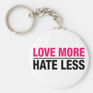 Chaveiro Ame mais ódio menos