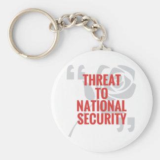 """Chaveiro """"Ameaça à segurança nacional """""""