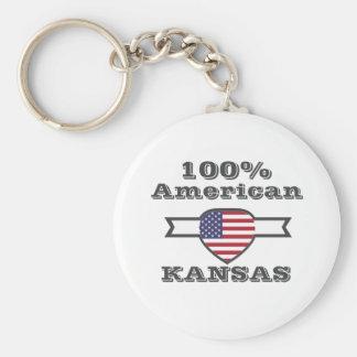 Chaveiro Americano de 100%, Kansas