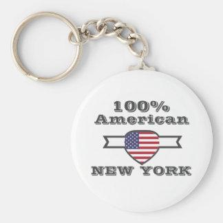 Chaveiro Americano de 100%, New York