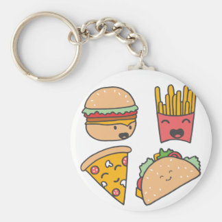Chaveiro amigos do fast food