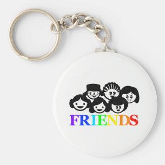 """Chaveiro Amizade dos """"amigos"""", anel chave"""