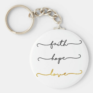 Chaveiro Amor da esperança da fé