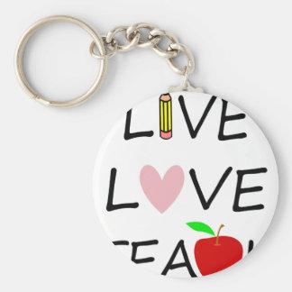Chaveiro amor vivo teach2