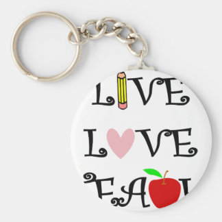 Chaveiro amor vivo teach3