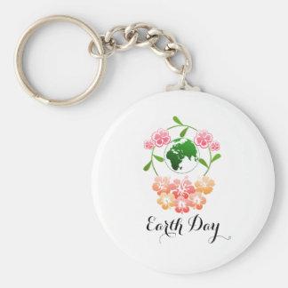 "Chaveiro Anel chave bonito do ""Dia da Terra"""