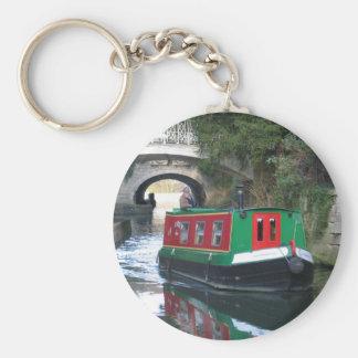 Chaveiro Anel chave de barco de canal