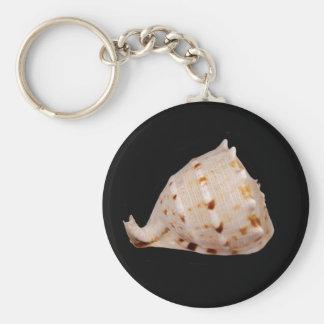 Chaveiro Anel chave de Shell do Conch