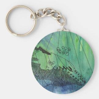 Chaveiro Anel chave de Strombo da baleia