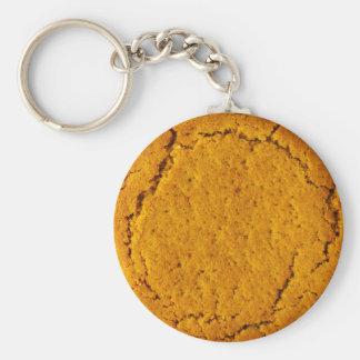 Chaveiro Anel chave do biscoito da porca do gengibre