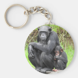 Chaveiro Anel chave do chimpanzé