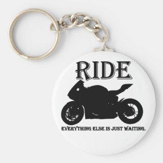 Chaveiro Anel chave do clube da motocicleta