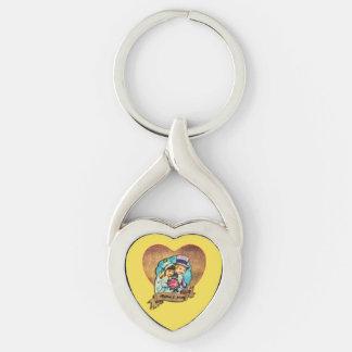 Chaveiro Anel chave do coração de Meghan Markle & de