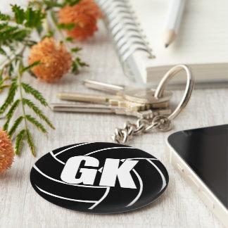 Chaveiro Anel chave do depositário GK do objetivo do