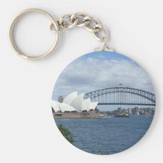 Chaveiro Anel chave do porto de Sydney