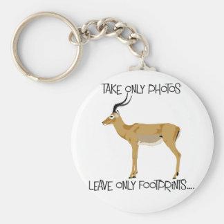 Chaveiro Anel chave dos animais selvagens do Impala