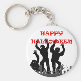 Chaveiro Anel chave drooling do zombi do Dia das Bruxas