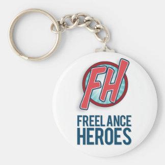 Chaveiro Anel chave Freelance dos heróis