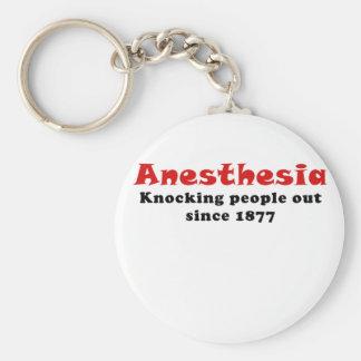Chaveiro Anestesia que bate pessoas para fora desde 1877