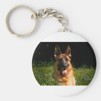 Chaveiro Animal de estimação do cão de german shepherd