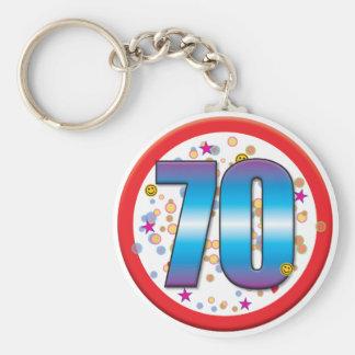 Chaveiro aniversário v2 do 70