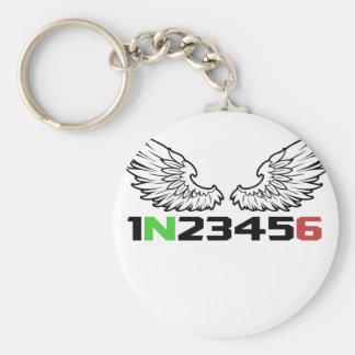 Chaveiro anjo 1N23456