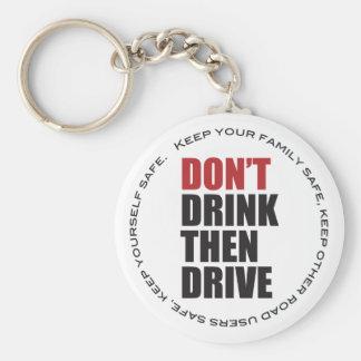 Chaveiro Anti condução do bebado