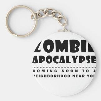 Chaveiro Apocalipse do zombi