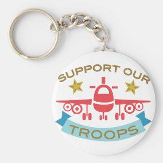 Chaveiro Apoie nossas tropas