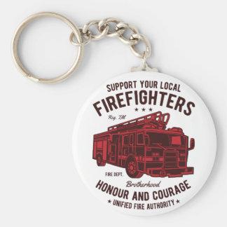 Chaveiro Apoie seus bombeiros locais