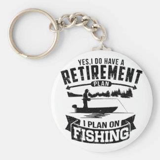Chaveiro Aposentadoria da pesca