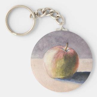 Chaveiro Apple na mesa - pintura