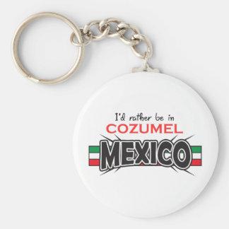 CHAVEIRO APPLIQUE COZUMEL DE MÉXICO