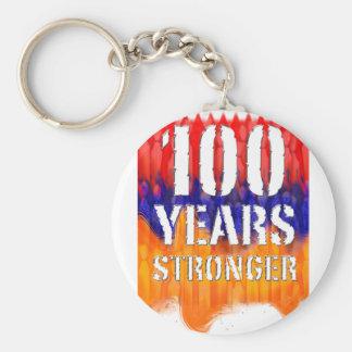 Chaveiro Arménia 100 anos de aniversário mais forte