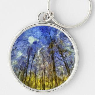 Chaveiro Arte da floresta de Vincent van Gogh