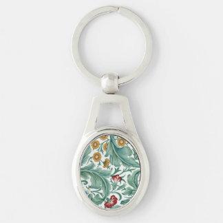 Chaveiro Arte de William Morris
