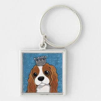 Chaveiro Arte do cão do Spaniel de rei Charles |