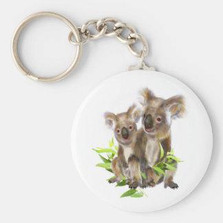 Chaveiro Arte pequena bonito do animal do urso de Koala