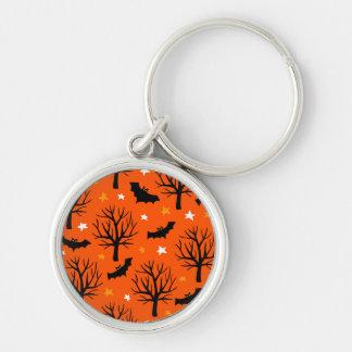 Chaveiro Árvore assustador do Dia das Bruxas com bastões e