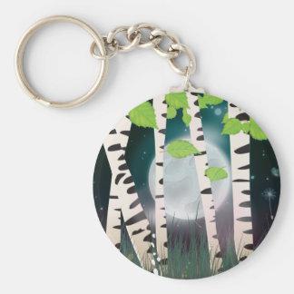 Chaveiro Árvores de vidoeiro deciduous latifoliadas da