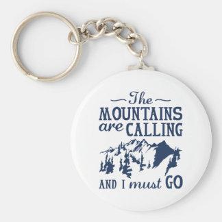 Chaveiro As montanhas estão chamando