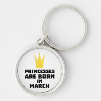 Chaveiro As princesas são em março Z60zh nascidos
