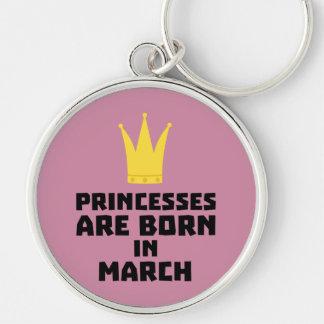 Chaveiro As princesas são em março Zhv17 nascidos