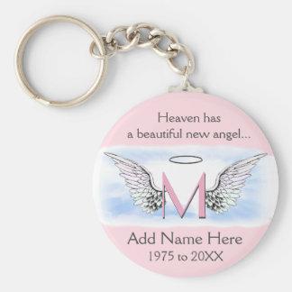 Chaveiro Asas do anjo do memorial | do monograma |