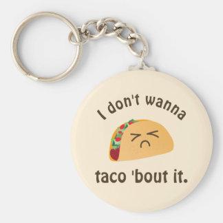 Chaveiro Ataque do Taco 'ele humor bonito engraçado da