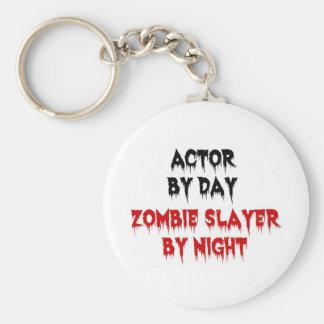 Chaveiro Ator pelo assassino do zombi do dia em a noite
