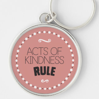 Chaveiro Atos da regra da bondade - fundo editável