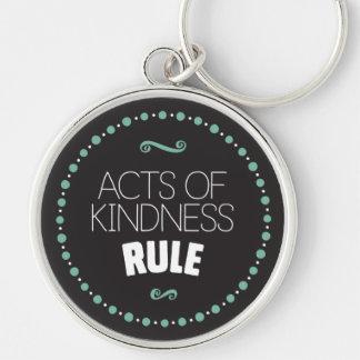 Chaveiro Atos da regra da bondade - preto
