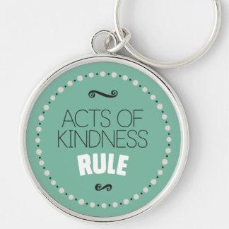 Chaveiro Atos da regra da bondade - verde